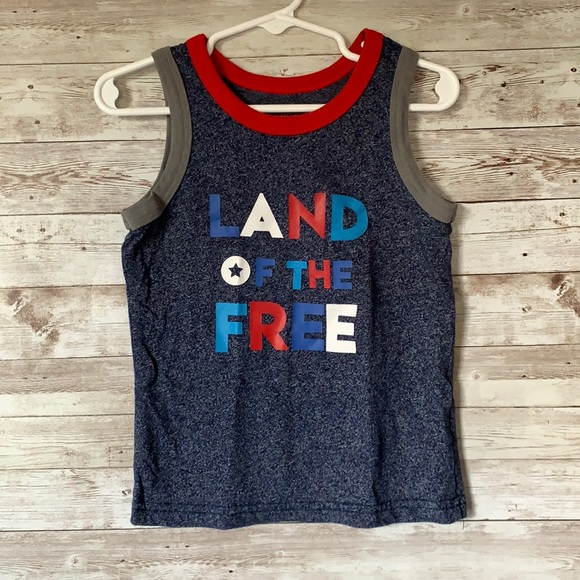 Cat & Jack Land of the Free Tank Top